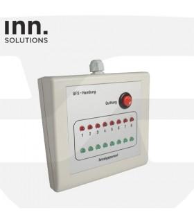 Panel control 8 salidas de emergencia,EXIT- Inn Solutions
