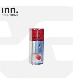 PULSADOR INTELIGENTE para la gestión y control de salidas de emergencia ,EXIT-DOOR Terminal Inn Solutions