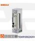 Abrepuertas eléctricos Serie 56, embutir simetricos temporizado , DORCAS