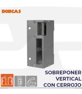 Abrepuertas eléctrico Serie 23, sobreponer vertical con cerrojo, DORCAS