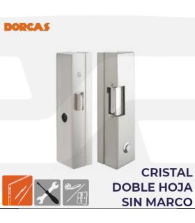 Abrepuerta eléctrico + cerradura Serie 83 cristal , DORCAS