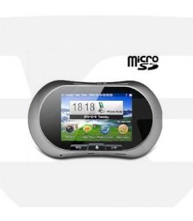 Mirilla Digital tactil con sensor movimiento y aviso telefono, OM04 (GSM 3G),Micro SD