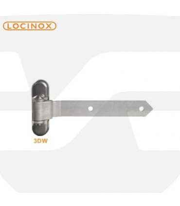 Bisagra regulable T en 3 ejes de Locinox