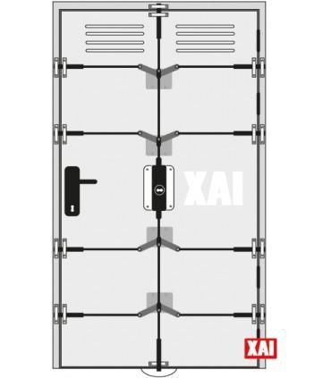 Cerradura de Seguridad puertas trasteros, garajes de XAI
