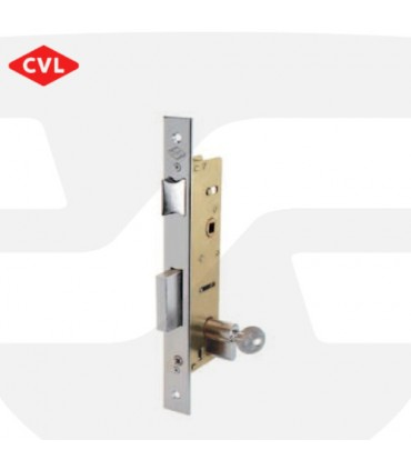 Cerradura embutir metálica monopunto, Serie 1995, CVL