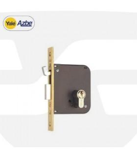 Cerradura embutir monopunto antipalanca  49P, AZBE