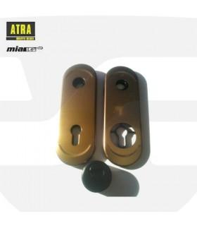 Juego de placas para cerraduras perfil europeo Mia, Atra, Dierre