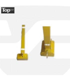 Barrera de parking con poste abatible AD, de 800mm, TT-021, TopTop