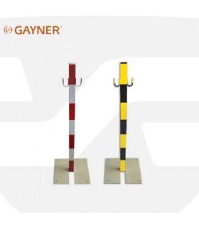 Poste delimitador metálico cadena, 78-842, Gayner