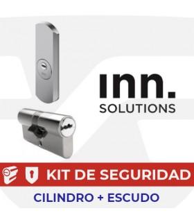 Kit alta seguridad Inn, Cilindro Key Smart, Vds Bz+ con escudo Pro Protector, INN