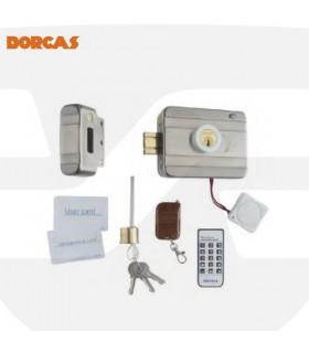 Cerradura eléctrica motorizada con control remoto D94 , DORCAS