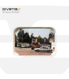 Espejos vigilancia 2 direcciones rectangular , Divetis