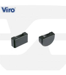 "Recibidores metálicos barra transversal ajustable ""Spranga"",  VIRO"