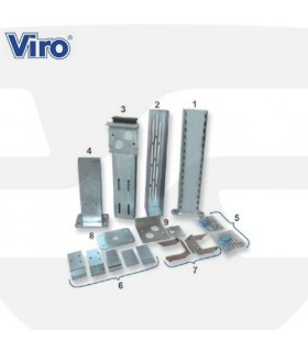 Accesorios instalación cerradura eléctrica puertas correderas , V09, VIRO