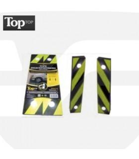 Tope de aparcamiento de pared adhesivado de 500x100x45, TT-021, toptop