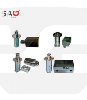 Cierre persiana metálica  Serie CP7,CP8,CP9 Y CP12, SAG Seguridad