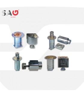 Cierre persiana metálica  Serie BB1, BB2, BB3 y BB4. SAG Seguridad