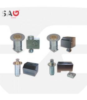 Cierre persiana metálica  Serie  , BB12, BB13 y BB14. SAG Seguridad