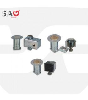 Cierre persiana metálica  Serie BB15, BB16 y EPI. SAG Seguridad