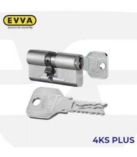 Cilindro Alta seguridad 4KSplus,5 llaves, EVVA