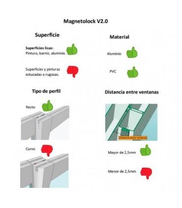 Bloqueo antirrobo ventanas Magnetolock v2.0