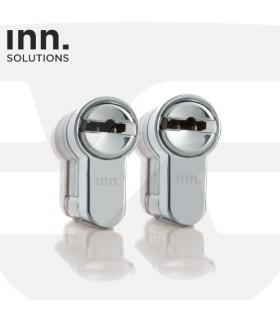 Pareja de Cilindros Alta Seguridad Amaestramiento Servicio  Inn Key Smart, Vds Bz+, Sistema Key Control,INN