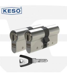 Pareja de Cilindros Alta Seguridad 8000Ω2 Premium, KESO