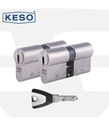 Pareja de Cilindros Alta Seguridad 8000Ω2 Master, KESO