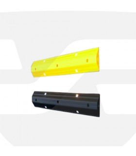 Reductor de Velocidad y separador de carriles de 160x45 de PVC ,TT029 Toc-Toc
