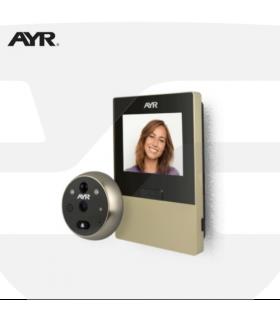 Mirilla Digital AYR 760 - WiFi con Sensor y Timbre
