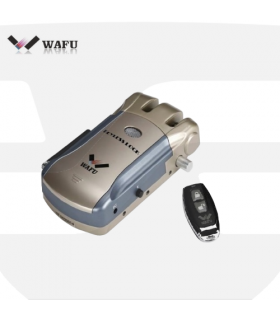 Cerradura seguridad invisible Keyless Lock, Wafu