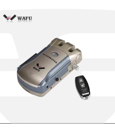 Cerradura seguridad invisible Keyless Lock, Wafu