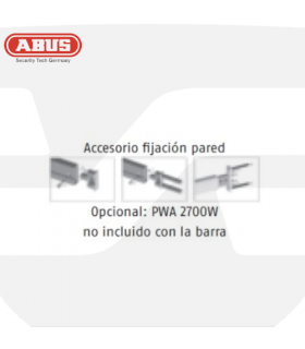 Accesorio fijacion pared barra transversal  PR ABUS