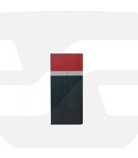 Protector de columnas de esquina ángulo chaflan de 650x300x20, serie PC013 Toptop