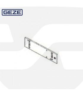 Placa montaje para vidrio cierrapuertas aereos, Geze