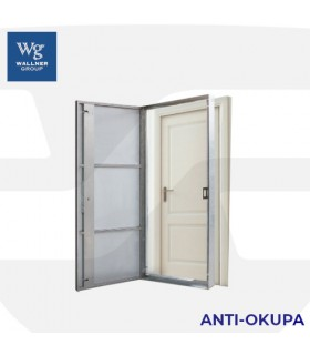 Puerta seguridad Antiokupa