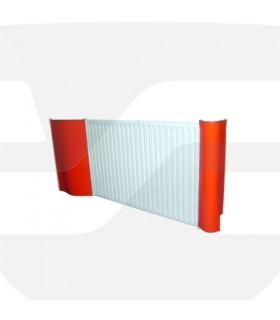 Protector de radiadores flexible, TT123