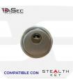 Escudo blindado de alta seguridad,BD280MR.ST - Stealth Key, Serie Rok Disec