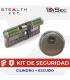 KIT Cilindro STEALTH KEY  de Urban Alps + Escudo DISEC BD280MR ST
