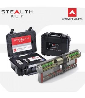 Cilindro Alta Seguridad STEALTH KEY. Serie especial de Urban Alps