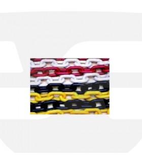 Cadena de polietileno 25 metros rojo/blanco, TT068, TOC TOC, TopTop