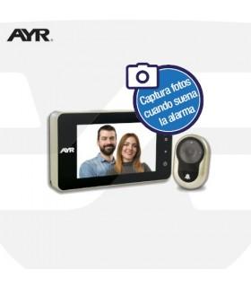 Mirilla Digital AYR Serie FACE 758-A con alarma