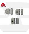Cerradura Sobreponer Cilindro Pompa, 3000/3050/3200, CR
