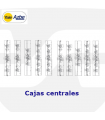 CAJA CENTRAL CERRADURAS ALTA SEGURIDAD EMBUTIR 3,5,7 PUNTOS, SERIE 89, AZBE