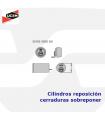 Cilindros reposición cerraduras sobreponer de seguridad serie 4000SN de Ucem