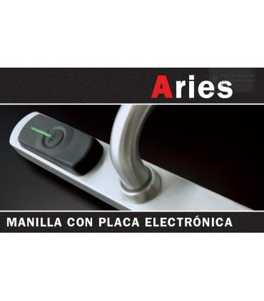 Manivela con placa electrónica Aries, ISEO Zero1