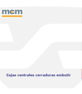 CAJA CENTRAL CERRADURAS ALTA SEGURIDAD EMBUTIR 3,5 PUNTOS,  MCM