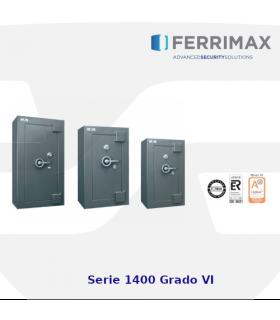 Caja fuerte Serie 1400, grado VI, Ferrimax