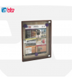 Tablones de anuncio serie Madera, BTV