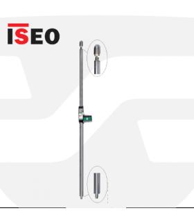 Dispositivo salidas emergencia Placa presión PAD Bolt Inox, ISEO